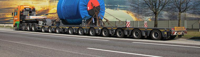 edito trailer low remorque basse tyre