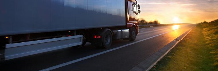 edito truck sunset tyre