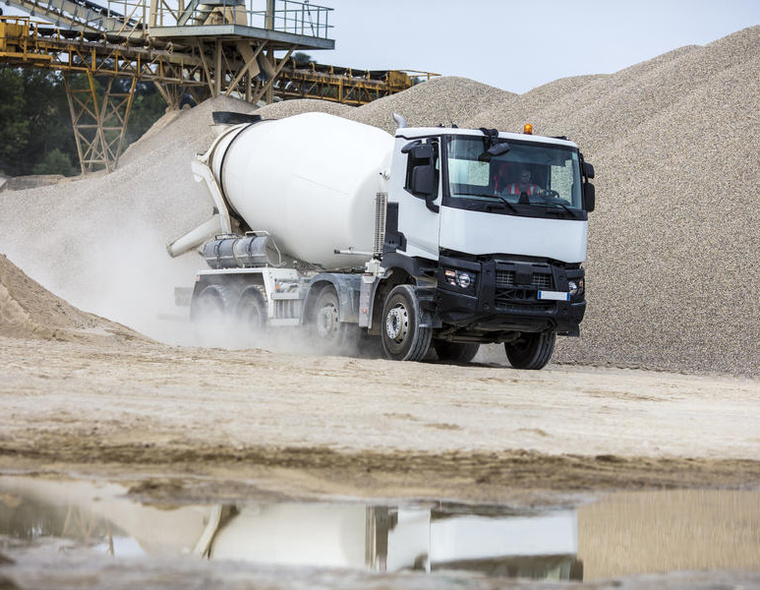 edito construction truck 4 tyre