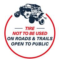 logo etiquette km3 utv en