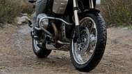 Motorcykel Tidningsledare anakee 3 Däck