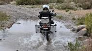 Motorcykel Tidningsledare anakee3 7 Däck