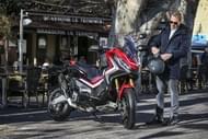 Moto Éditorial pilot road4 3 Pneus