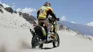 オートバイ エディット desert race タイヤ