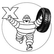 乗用車 ロゴ michelin radial x6 タイヤ