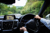 driving inside 9624