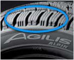 Auto uređivač agilis alpin unique treads gume