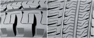 Auto piktogram lamellized sculpture gume