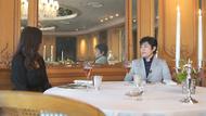 采女 華さん(左)と原田哲也氏(右)トゥールダルジャン 東京(TOUR D'ARGENT TOKYO)での食事