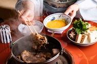 和田金 料理中