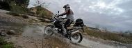 Motorcykel Tidningsledare anakee3 20 tyres full Däck