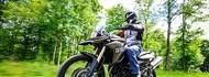 Motorcykel Tidningsledare anakee3 9 tyres full Däck