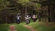 Motorcykel Tidningsledare carroussel Däck