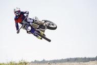Motorcykel Tidningsledare tracker rtb1 full Däck
