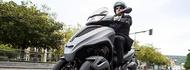 Motorcykel Tidningsledare city grip 3 tyres full Däck