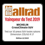 2019 - CC SUV - Allrad - Vainqueur test