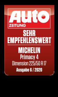 2020 AutoZeitung Sehr empfehenswert Primacy4