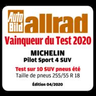 2019 AutoBild allrad Vainqueur du Test PS4SUV