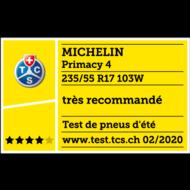 2019 TCS Très recommandé Primacy 4