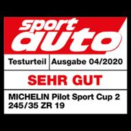 2020 SportAuto Sehr gut Pilot Sport Cup 2