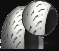 Moto Pictograma power 5 Llantas