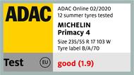 Primacy 4 - ADAC Online 02/2020