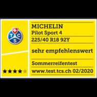 2020 TCS sehr empfehlenswert Pilot Sport 4