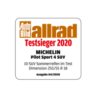 2020 AutoBildAllrad Testsieger PS4 SUV