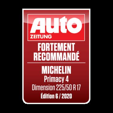 MICHELIN Primacy 4 | Auto Zeitung - Fortement recommandé 2020