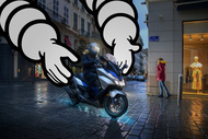 Motorrad Hintergrund michelin keyvisual citygrip2 3 max Reifen