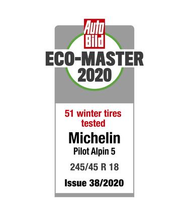 Michelin Pilot Alpin 5 - Auto Bild 2020 - Eco