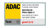 ADAC-michelin pilot alpin 5