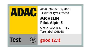ADAC-michelin pilot alpin 5