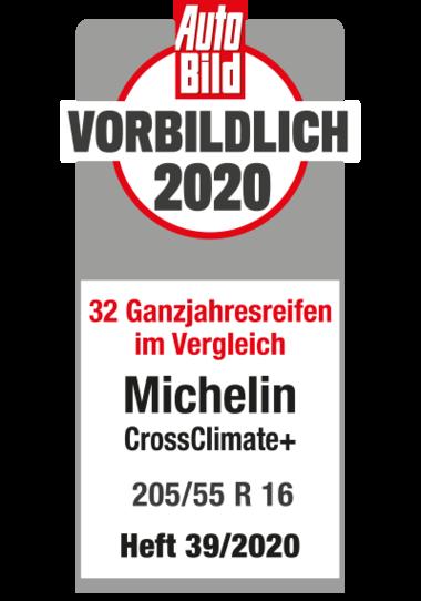 michelin crossclimateplus testlogo autobild vorbildlich 2020 400x571px