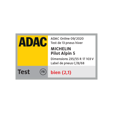 michelin award 0000s 0002s 0001 michelin pilot alpin 5 09 20 4c fr