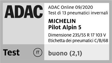 michelin pilot alpin 5 09 20 1c it