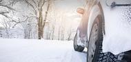 bg car in winter forest 1470