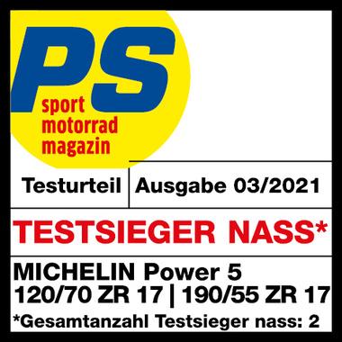 Power 5 PS Testsieger nass