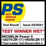 Power 5 PS Test winner wet