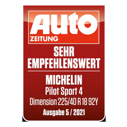2021 michelin pilot sport 4 autozeitung tyreflag
