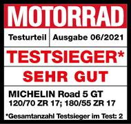 MICHELIN Road 5 GT Testsieger Motorrad