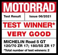 MICHELIN Road 5 GT Test Winner Motorrad