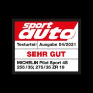 2021 Pilot Sport 4 S Sport Auto