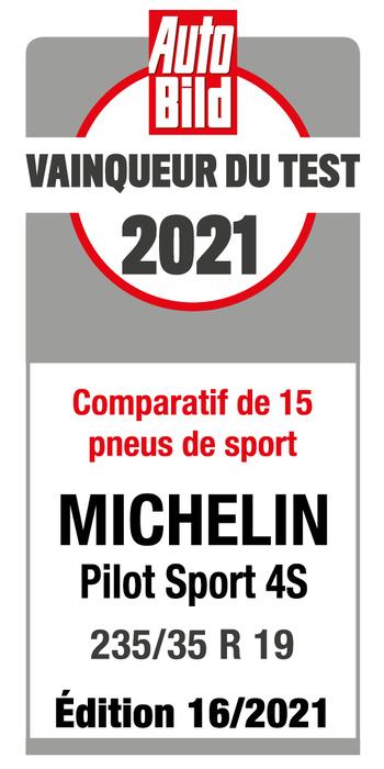 MICHELIN Pilot Sport 4S | Auto Bild - Vainqueur du test 2021
