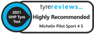 Tyrereviews.com Highly recommended tyre