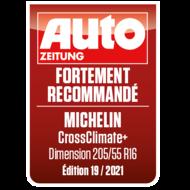 2021 Crossclimate+ Auto Zeitung CH-fr Sehr empfehlenswert
