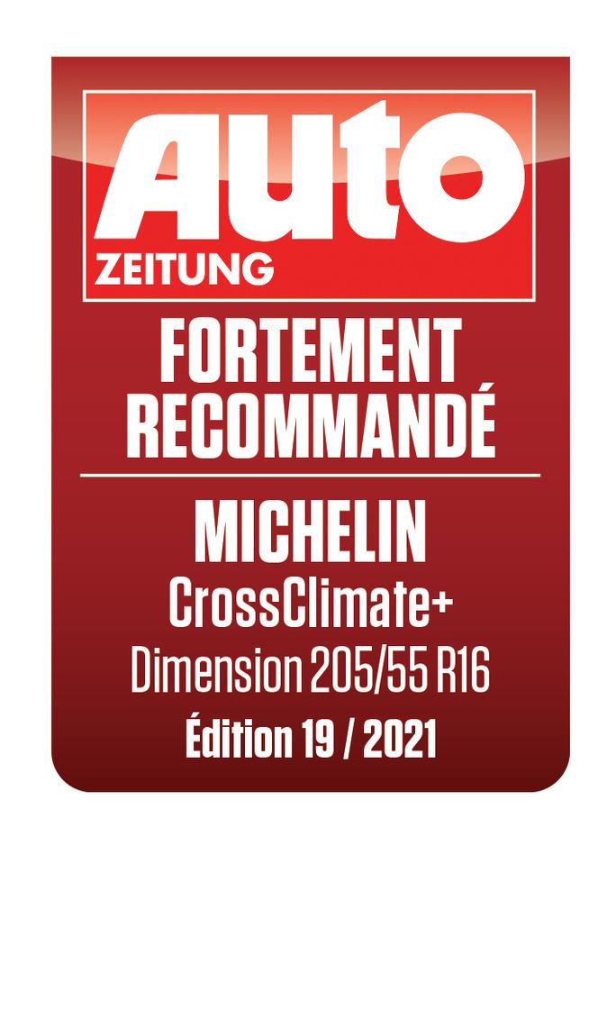 MICHELIN CrossClimate + | Auto Zeitung - Fortement recommandé