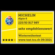 2021 Alpin 6 TCS sehr empfehlenswert