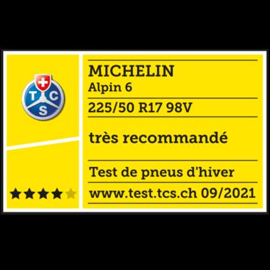2021 Alpin 6 TCS très recommandé