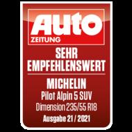 2021 Pilot Alpin 5 SUV Autozeitung sehr empfehlenswert DE